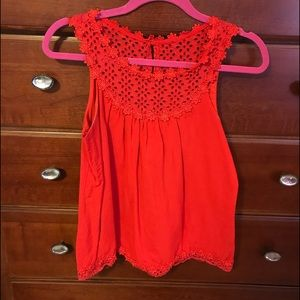 Forever 21 red tank size small